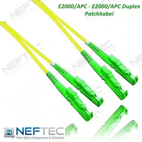 E2000 APC - E2000 APC Duplex Patchkabel Singlemode