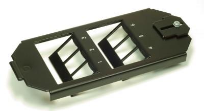 Keystone Montageadapter 6-fach