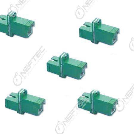 E2000 APC - SC APC Simplex Adapter
