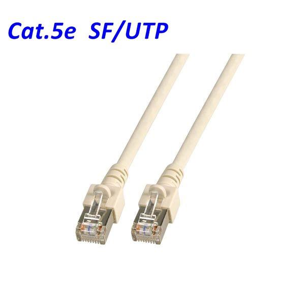 Cat.5 Patchkabel SF-UTP grau