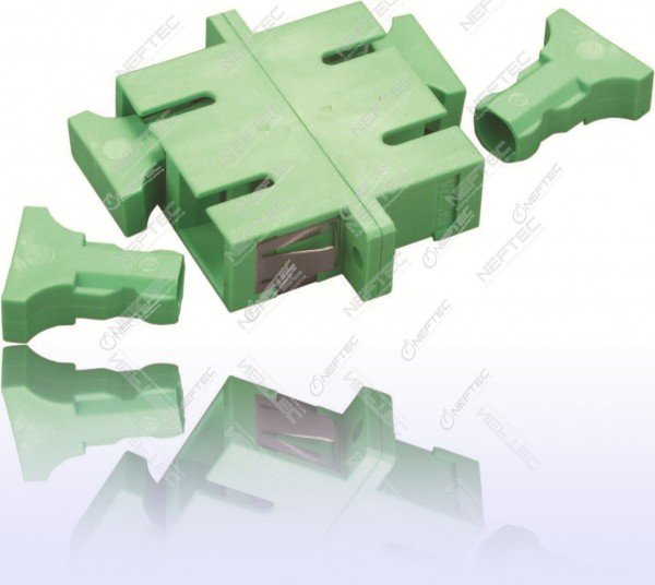 SC Duplex Adapter Singlemode APC