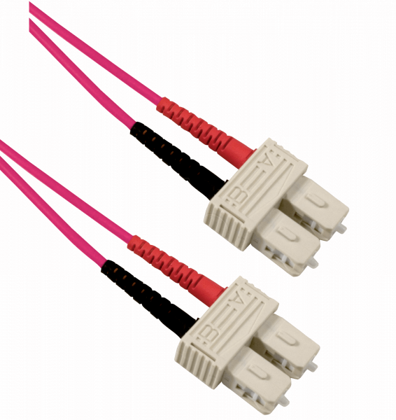 SC-SC OM4 Multimode Duplex Patchkabel
