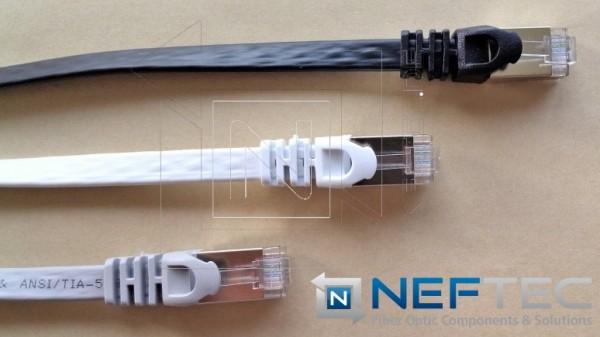 Cat.6A Flachkabel Patchkabel 10Gbit