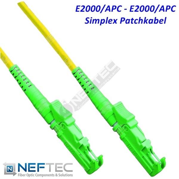 E2000 APC - E2000 APC Simplex Patchkabel Singlemode