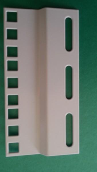 """Adapter-Montageplatte 19""""-23"""" 3HE"""