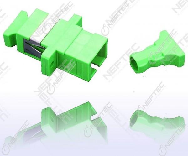 SC Simplex Adapter Singlemode APC
