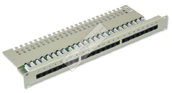 Patch Panel ISDN 25-50 Port Cat.3