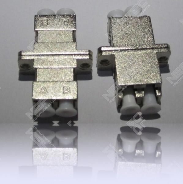 LC Duplex Adapter Singlemode Metallgehäuse