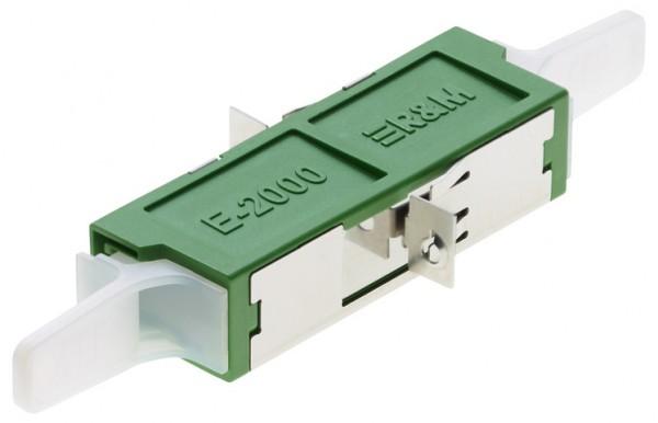 E2000 APC Simplex Adapter R&M
