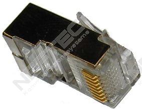 Modularstecker RJ45(8p8c) geschirmt