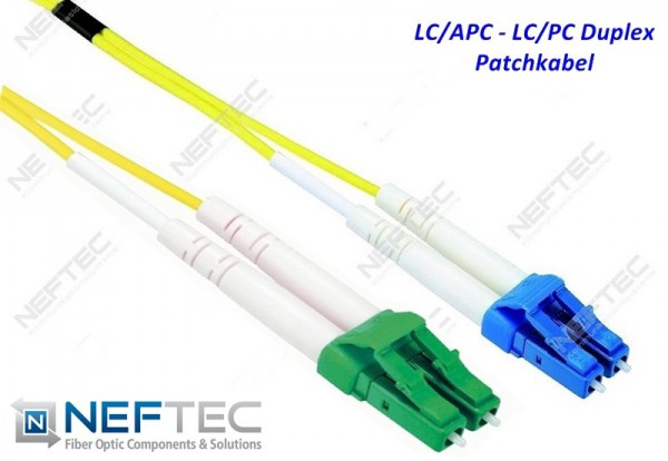 LC APC - LC Duplex Patchkabel Singlemode