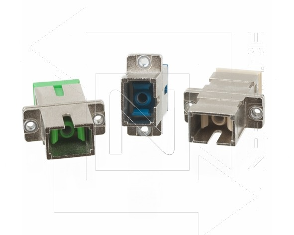 SC Simplex Adapter Singlemode APC Metallgehäuse