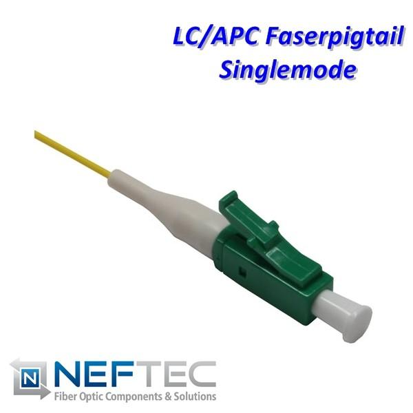 LC APC Pigtail Singlemode 9/125